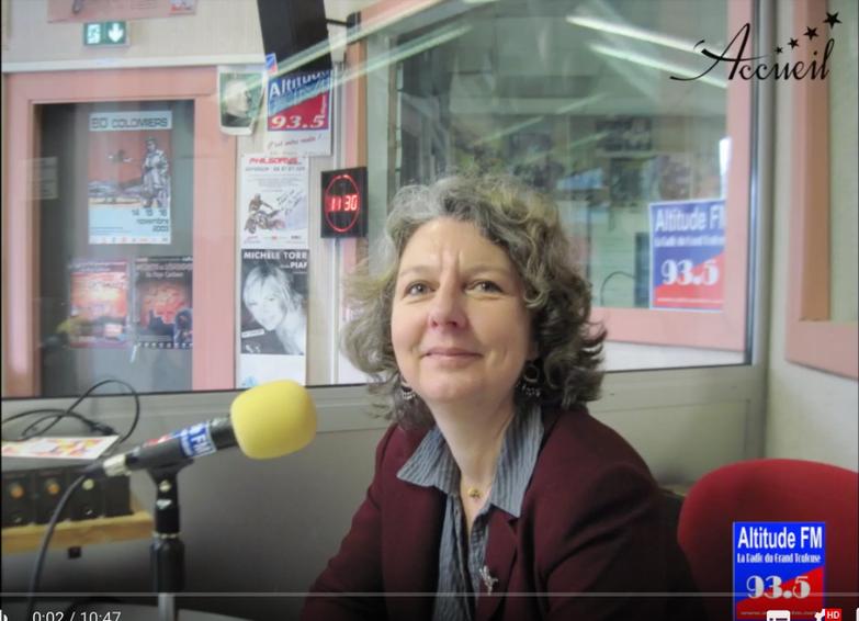 Podcast - Interview de Delphine Deserier radio Altitude FM