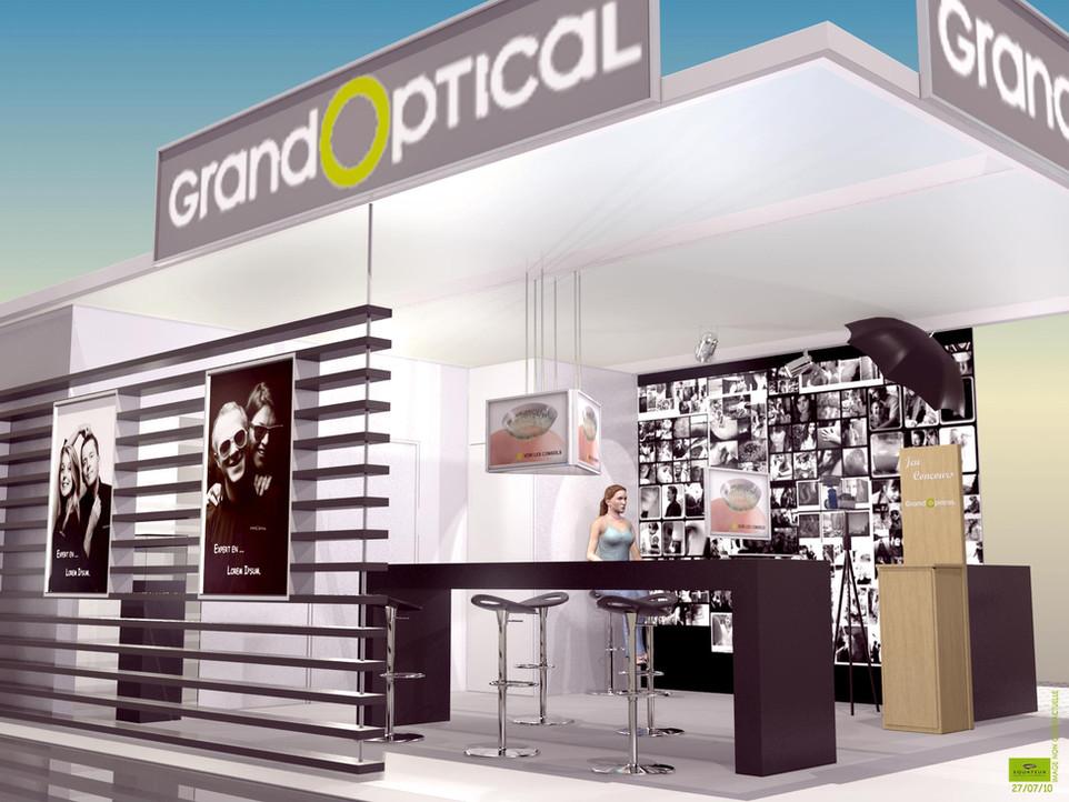 Salon Silmo GrandOptical - Stand 3D