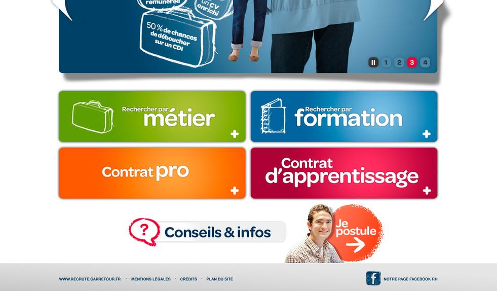 Site Carrefour Alternance