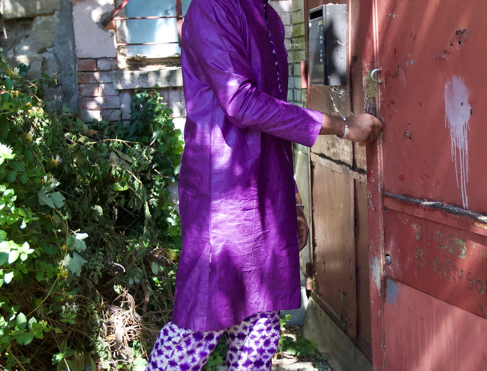 Ensemble Tunique PURPLE