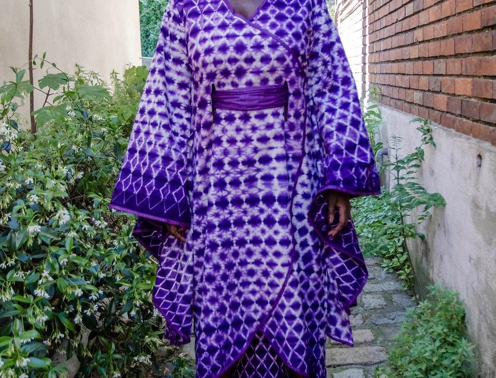 Robe KIMONO PURPLE