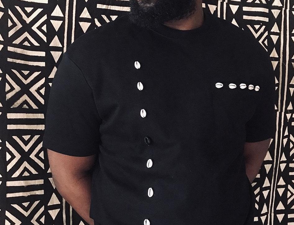 T shirt noir KORY MOOD
