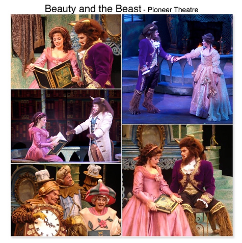 Beauty and the beast Gregg Goodbrod Pioneer Theatre Elizabeth Stanley