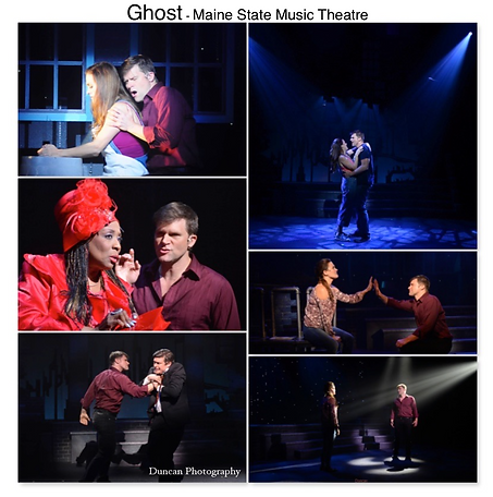 Ghost Musical Patrick Swayze Gregg Goodbrod Liz Shivener E Faye Butler Theatre