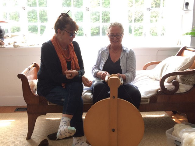 Spinning with Carol