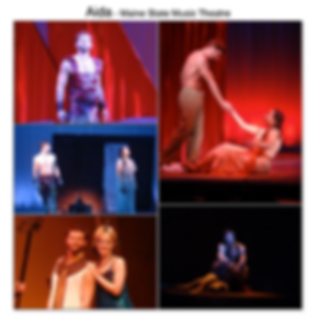 Aida Gregg Goodbrod Radames Adam Pascal Elton John Maine State Music theatre