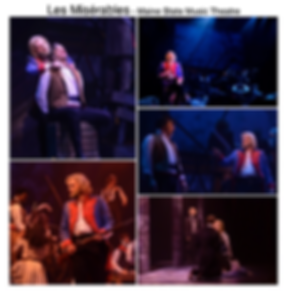 Les Miserables Gregg Goodbrod Valjean Maine State Music theatre hugh jackman siri howard