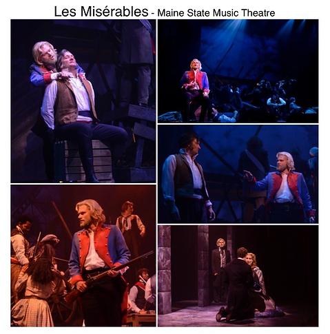 Les Miserables Gregg Goodbrod Valjean Maine State Music theatre hugh jackman siri howard