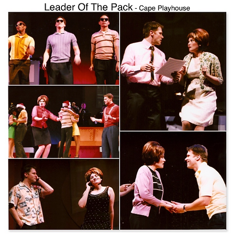 Leader of the Pack Gregg Goodbrod Ellie Greenwich Jeff Barry Cape Playhouse