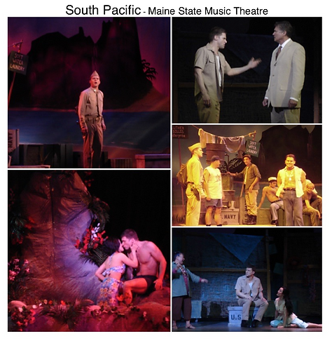 South Pacific Maine State Music theatre Gregg Goodbrod Cable Richard White