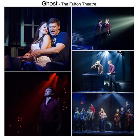 Ghost the Musical Gregg Goodbrod Patrick Swayze Liz shivener E Faye Butler Fulton Theatre Pennsylvania