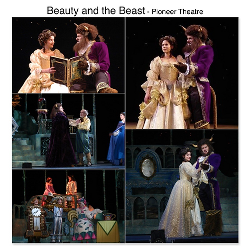 Beauty and the Beast Pioneer Theatre disney Sat Lake City Utah Gregg Goodbrod