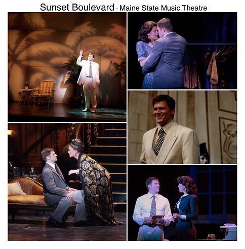 Sunset Boulevard Gregg Goodbrod Maine State Music theatre Joe Gillis Norma Desmond Andrew Lloyd Webber