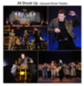 All Shook Up Gregg Goodbrod Chad Elvis musical Carousel Dinner Theatre Akron Ohio