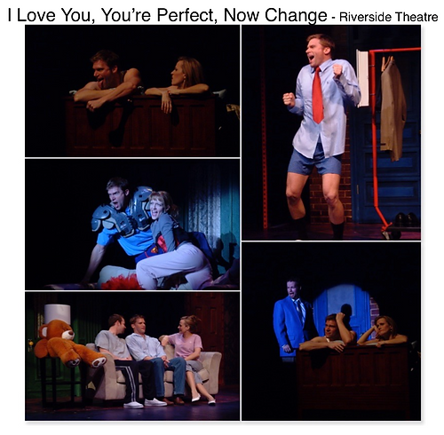 I Love you you're perfect now change Riverside theatre Vero Beach Gregg Goodbrod Mamie Parris