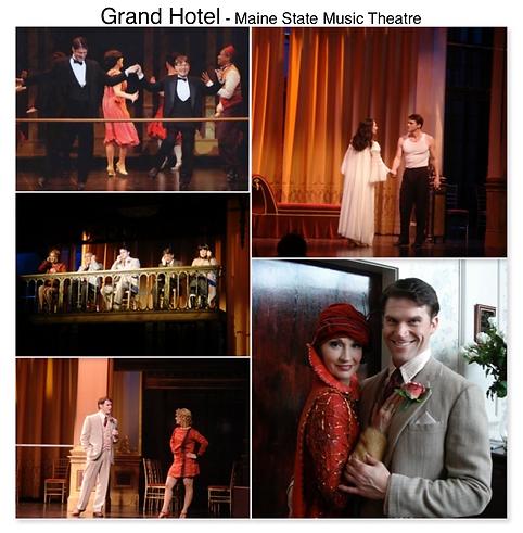 Grand Hotel Maine State Music theatre Gregg Goodbrod Baron Krissy Richmond Charles Abbott