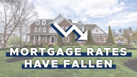 Rates Have Fallen