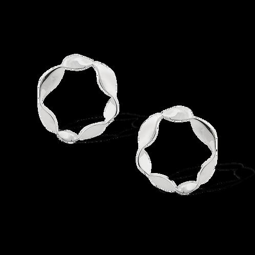 TSF Swirl Wavy Earrings