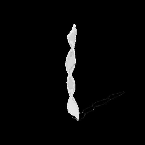 TSF Thin Swirl Bar  Brooch