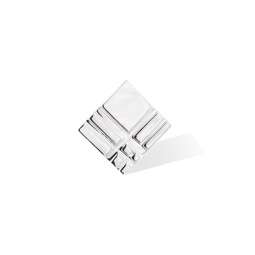 TSF Squares and Lines Brooch