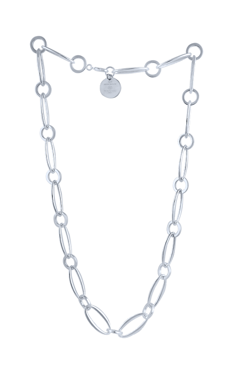 """TSF Almond and Ring 22"""" Small Chain"""