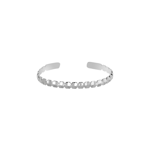 TSF Dual Scooped Cuff Bracelet