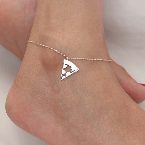 The Pizza Anklet
