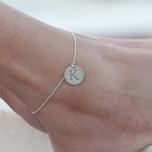The Initials Anklet