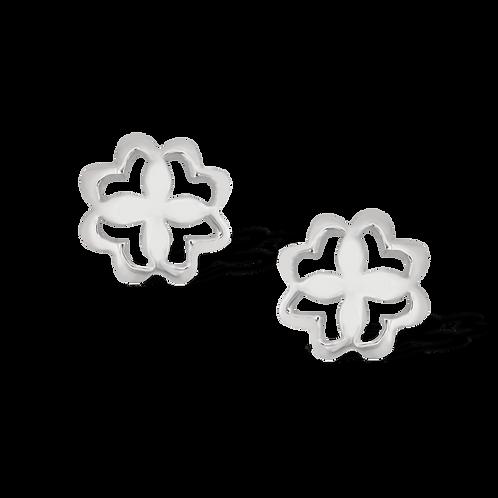 TSF Filigree Flower Earring Studd