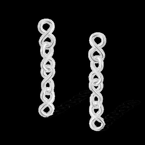 TSF Infinity Links Earring