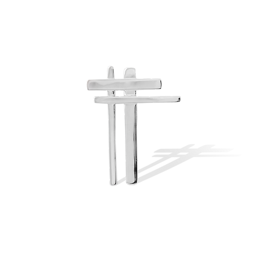 TSF Cross Brooch
