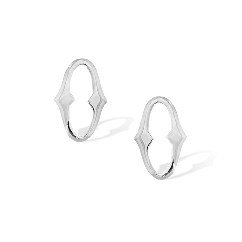 TSF Sharp Oval Earrings