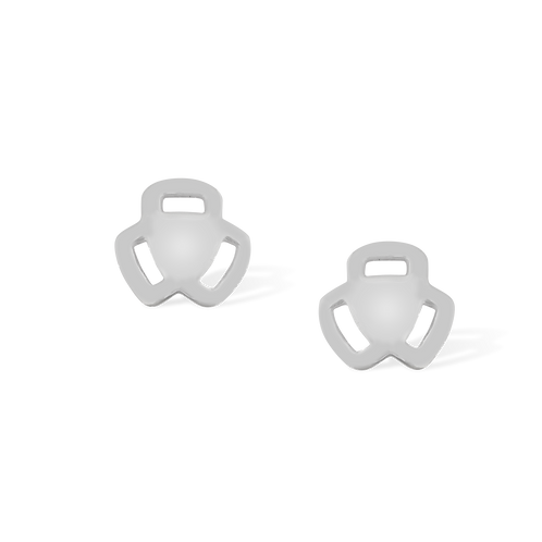 TSF Tri Side Earring Studd