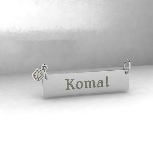 TSF OG 925 Silver Name Necklace