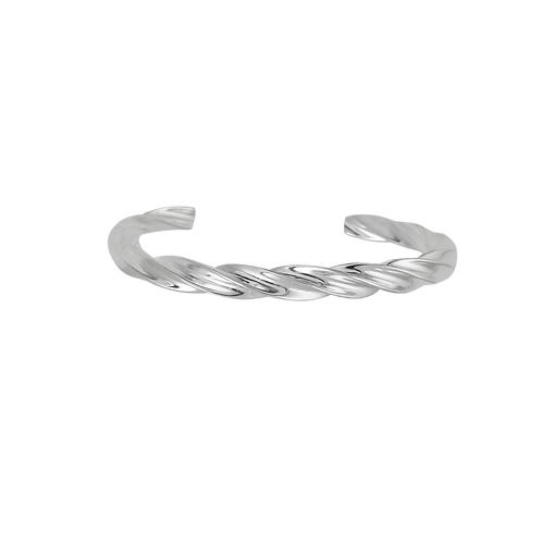 copy of TSF Fat Twisted Cable Cuff Bracelet