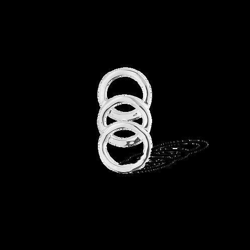 TSF Inter Circle Brooch