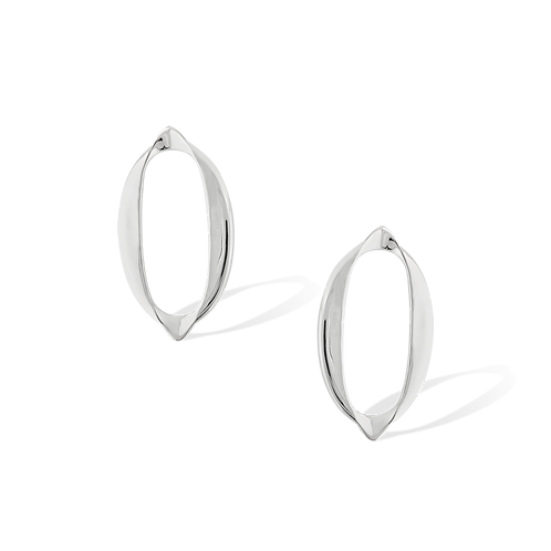 TSF Stretched Oval Earrings