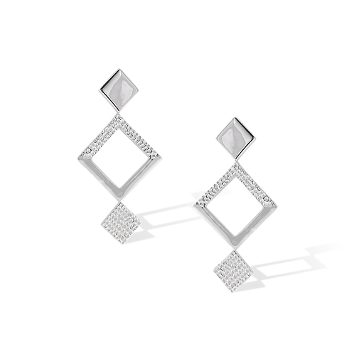 TSF Square Dangling Earrings