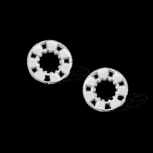 TSF Casino Chips Earrings