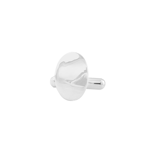 TSF Bended Oval Cufflink