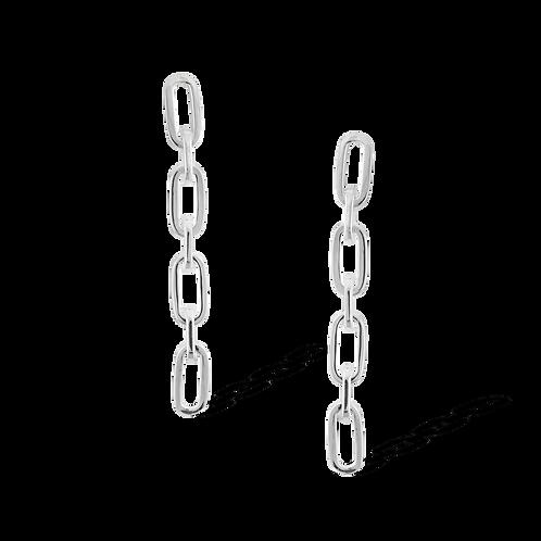 TSF Small & Medium Chain Earring