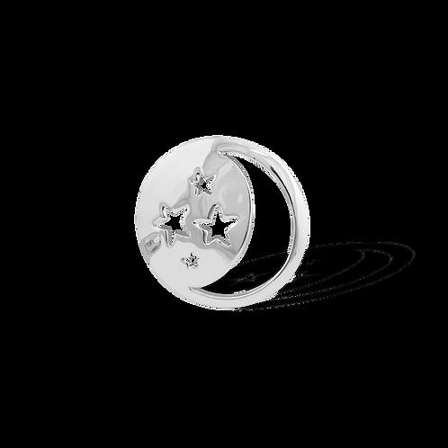 TSF Stars and Moon Brooch