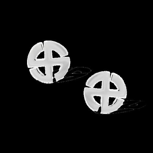 TSF Swastik Earring Studd