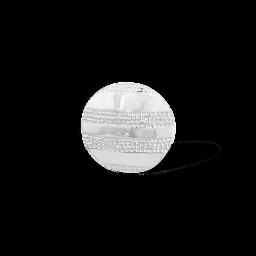 TSF Textured Shield Brooch