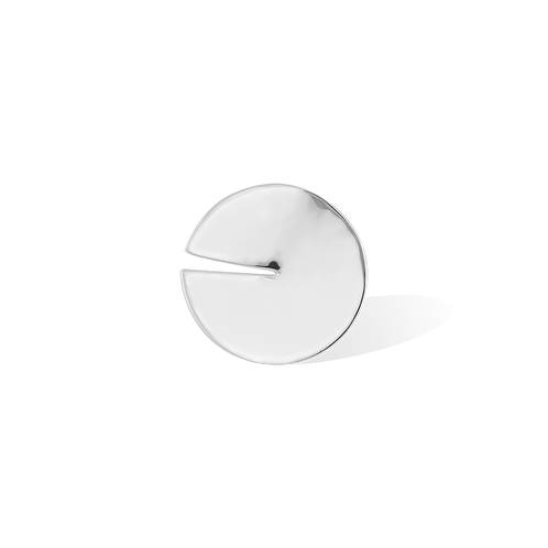 TSF Split Circle Brooch