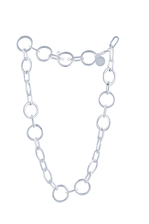 """TSF Safety Pin and Ring 22"""" Small Chain"""
