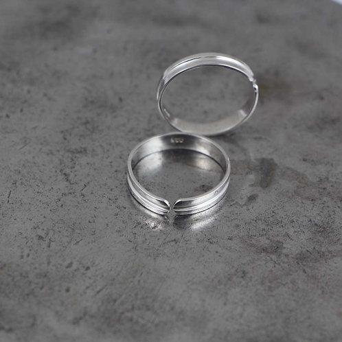 (Bichiya) Toe Ring 3.0 Adjustable Set of 2