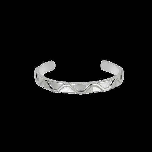 TSF Step Pattern Cuff Bracelet