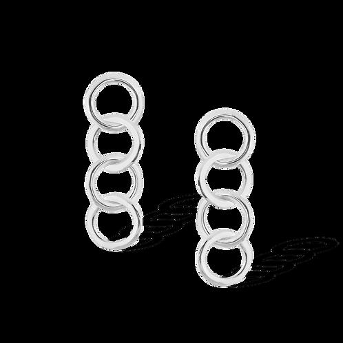 TSF Ring Thin Chain Earring