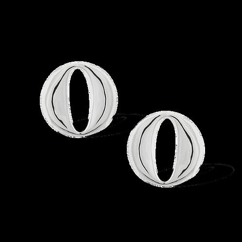 TSF Circles & Ovals Earrings